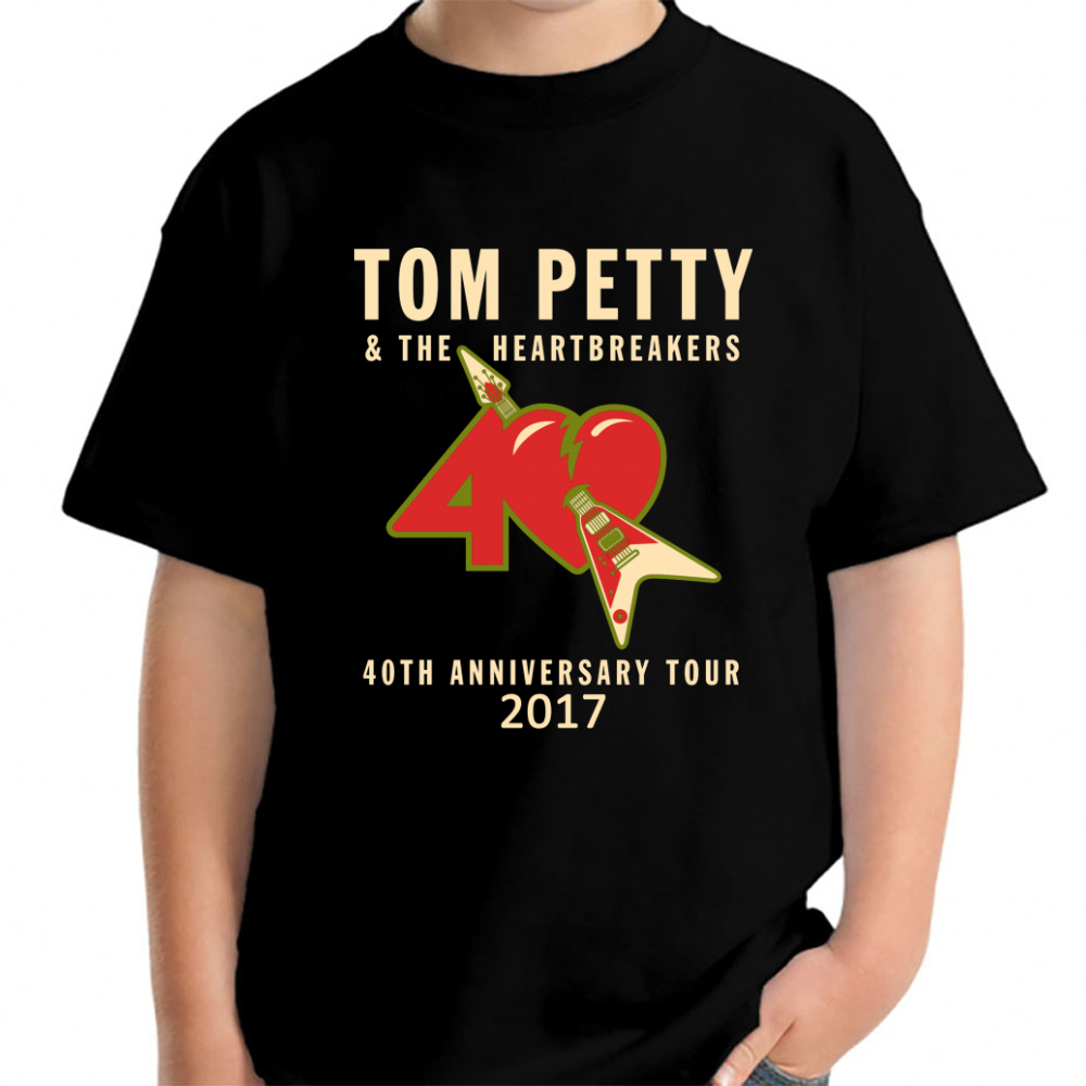 40th Anniversary Tour Tom Petty Young T-Shirt