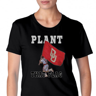 Plant That Flag Womens T-Shirt