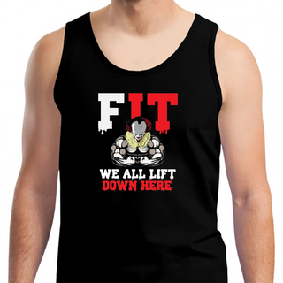 We All Lift Down Here - Mens Tank Top