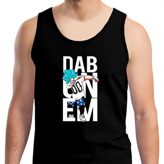 Super Saiyan Goku God Dab T - Mens Tank Top