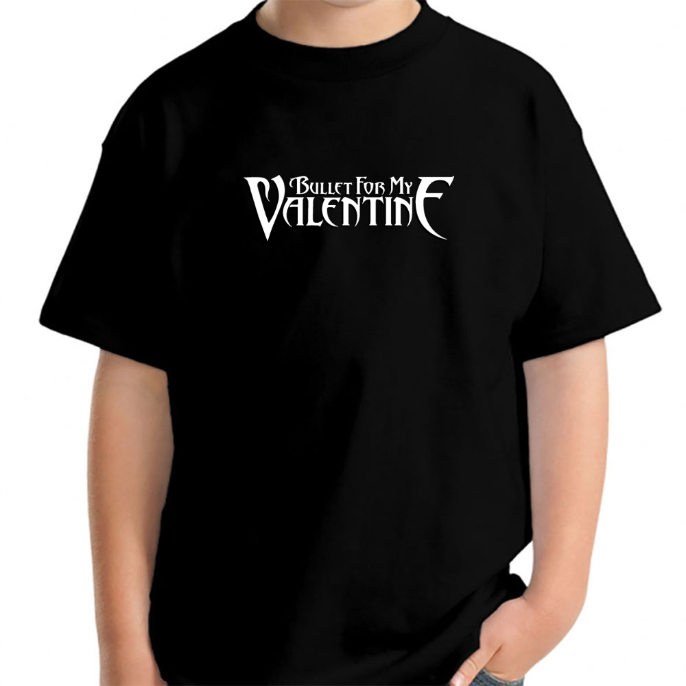 Bullet For My Valentine Black Classic Logo Official Young T Shirt Hoodie