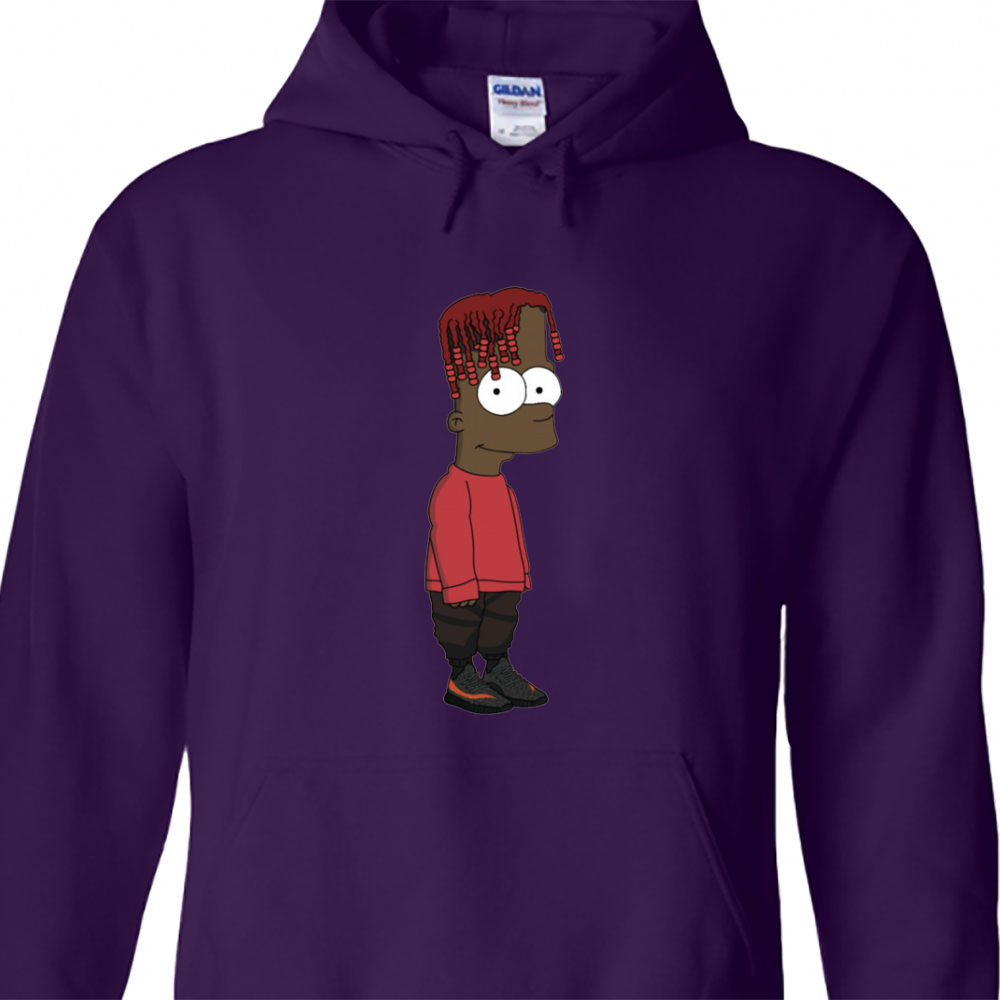 Bart Simpson Lil Yachty Hoodie
