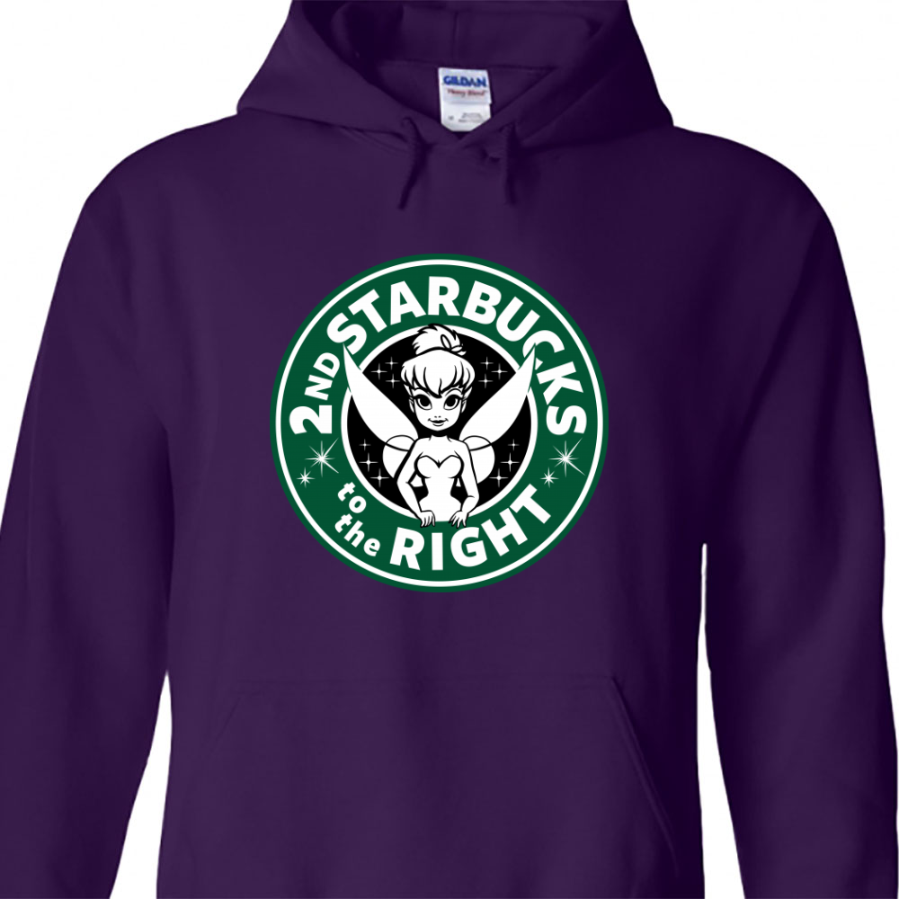 2nd Starbucks To The Right Hoodie