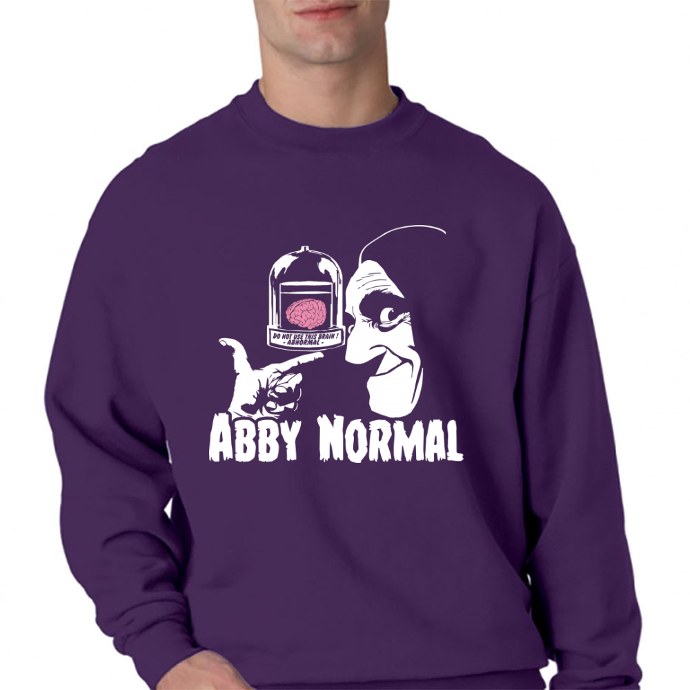 Abby Normal Crewneck Sweatshirt