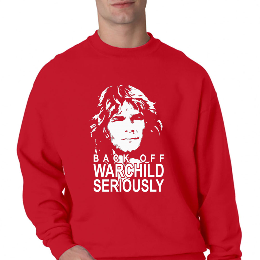 Back Off Warchild Seriously Crewneck Sweatshirt