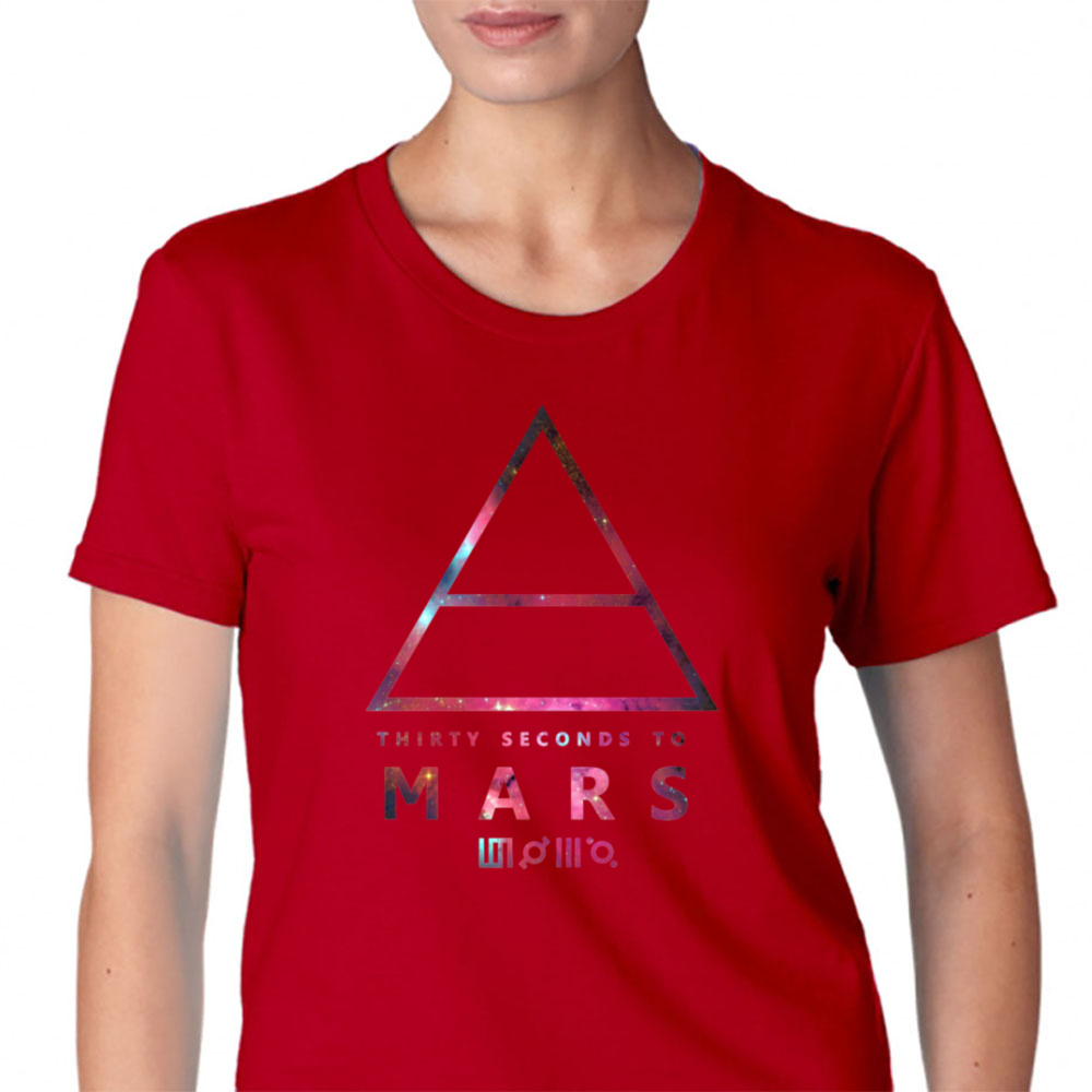 30 Seconds To Mars Universal Womens T-Shirt