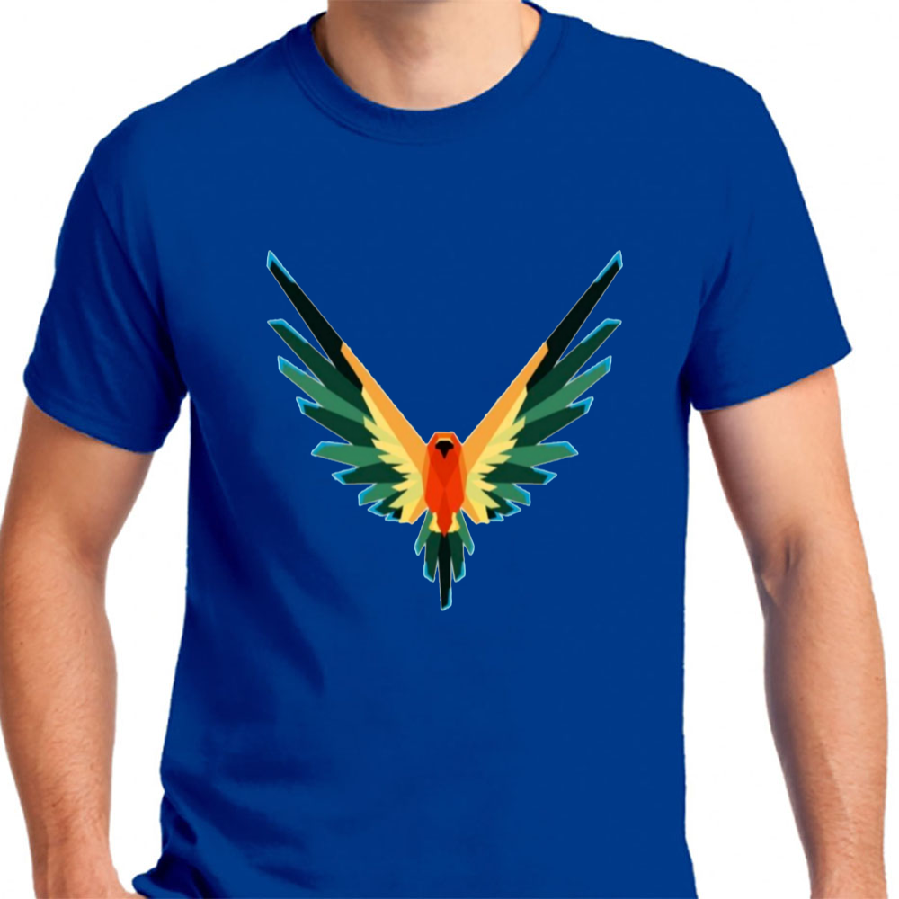 Maverick Bird Color Merch Logan Paul - Mens T-Shirt