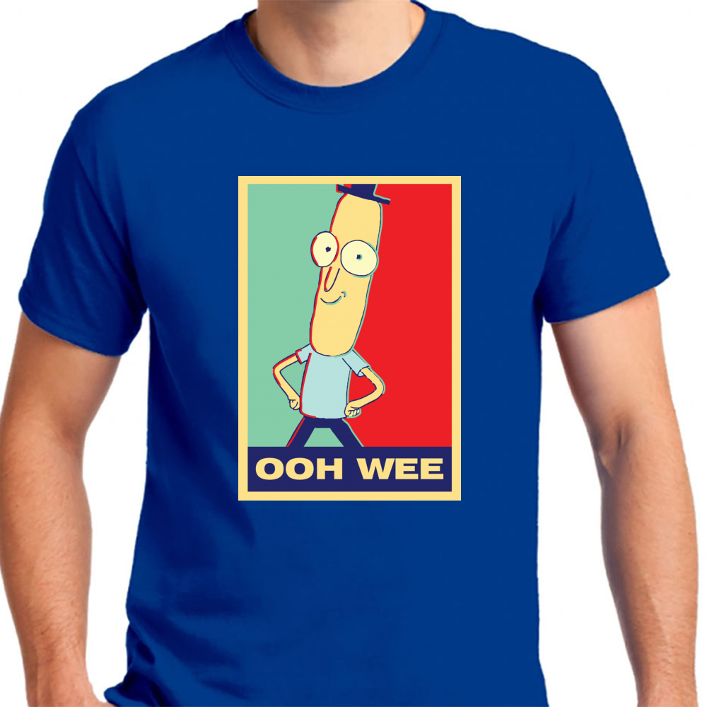 "Rick And Morty: Mr.poopybutthole ""ooh Wee"" - Mens T-Shirt"