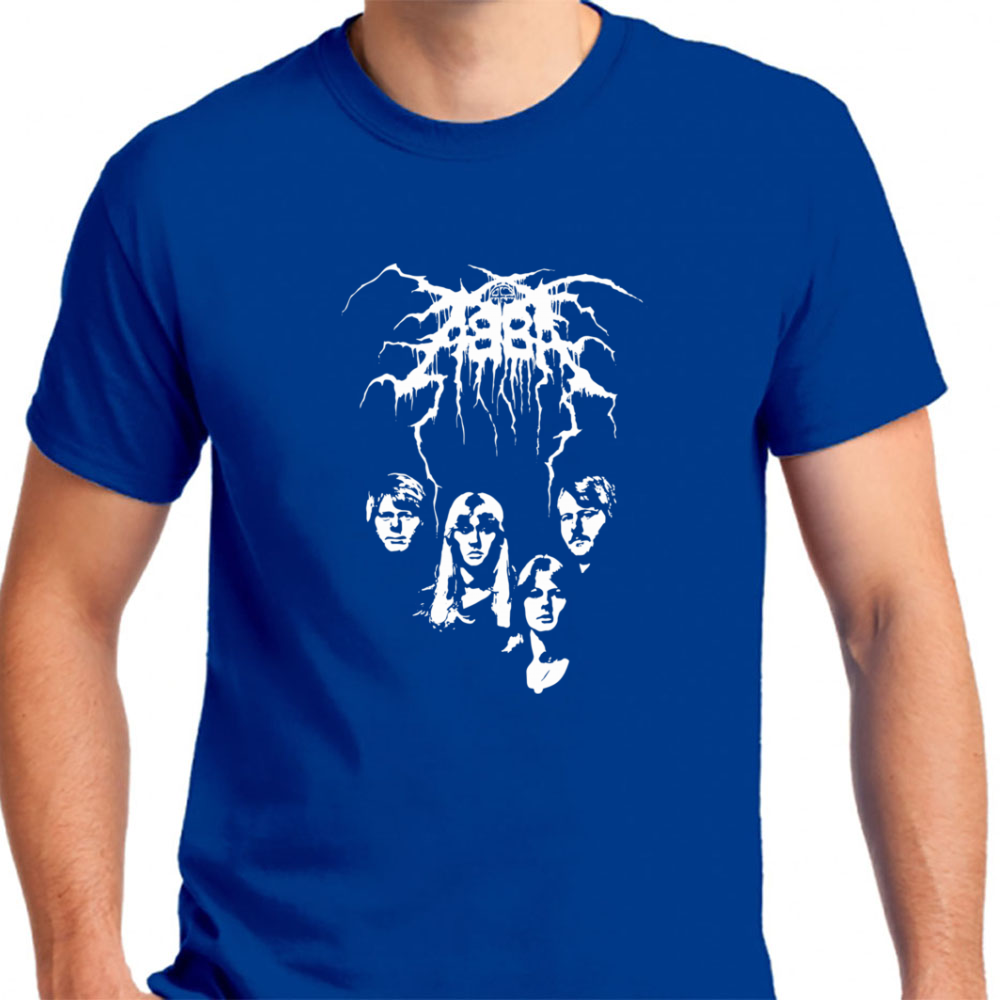 Abba Black Metal - Mens T-Shirt