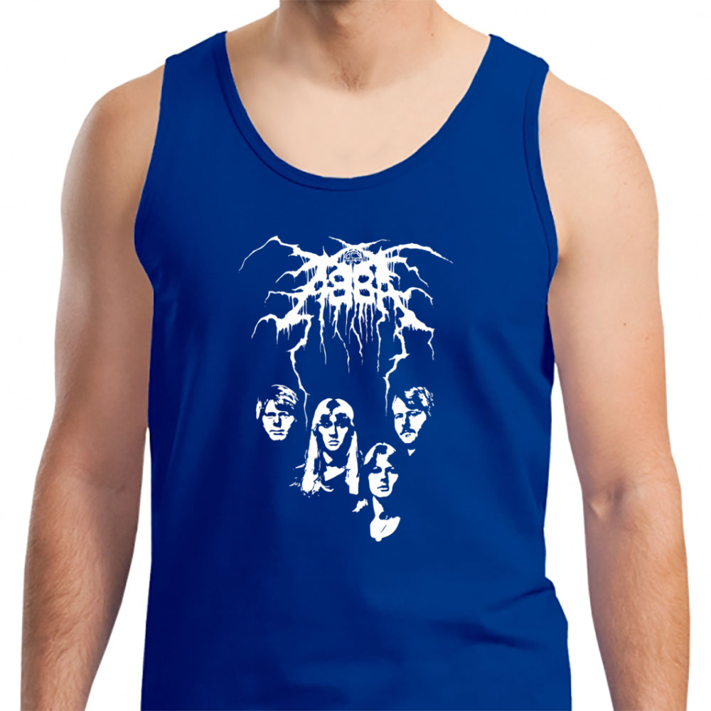 Abba Black Metal - Mens Tank Top