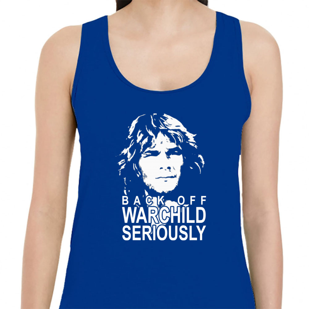 Back Off Warchild Seriously Womens Tank Top