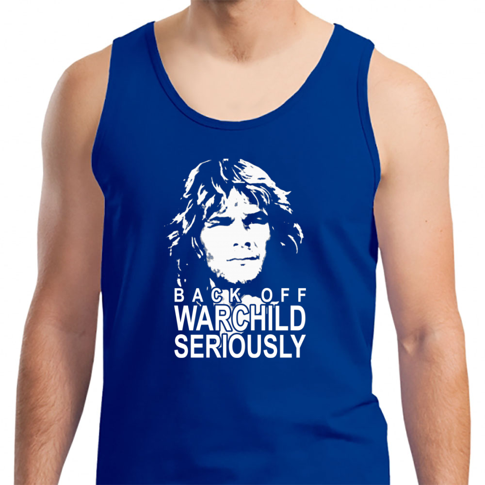 Back Off Warchild Seriously - Mens Tank Top