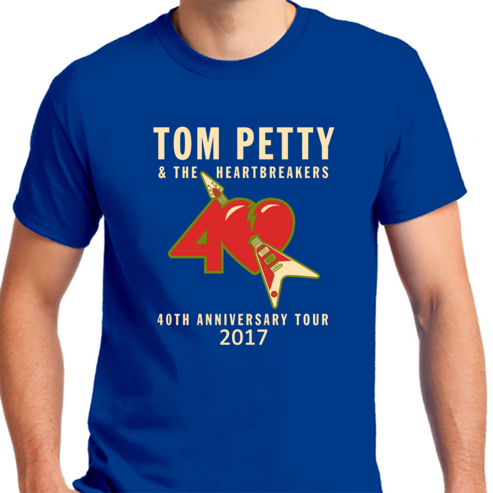40th Anniversary Tour Tom Petty - Mens T-Shirt