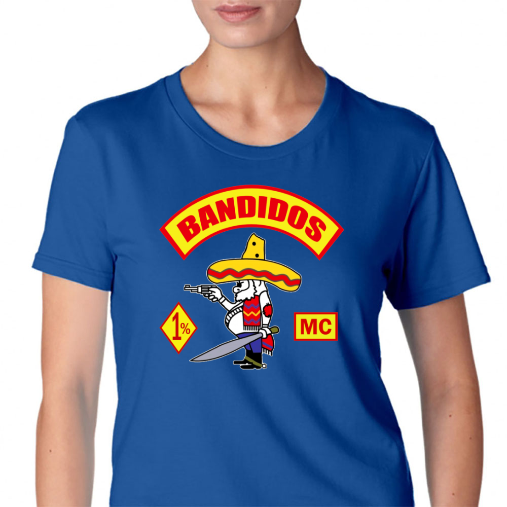 Bandidos Motorcycle Club Womens T-Shirt