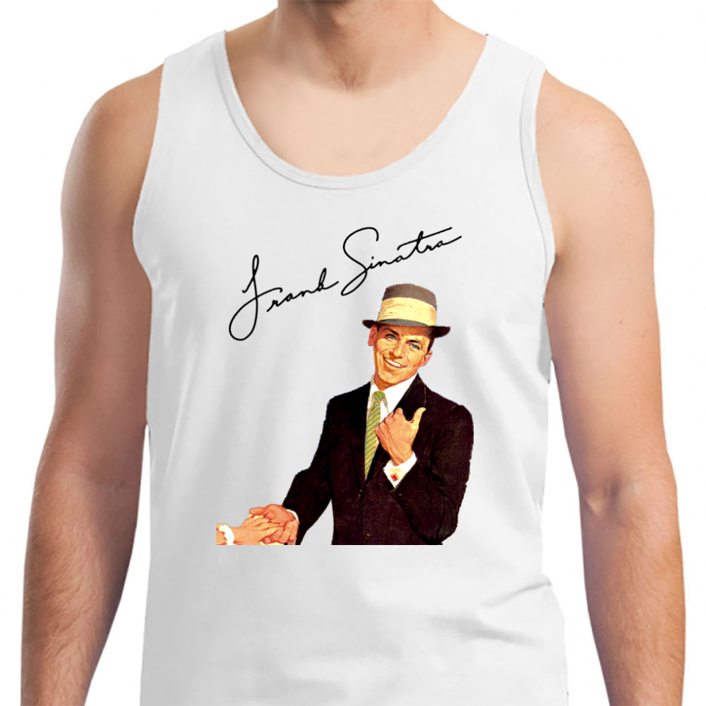 ac14f846d Frank Sinatra-come Fly With Me - Mens Tank Top – Grab-Tee Inc.