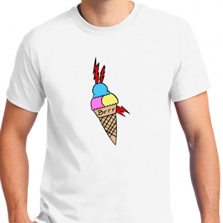 Gucci Mane Ice Cream Tattoo - Mens T-Shirt