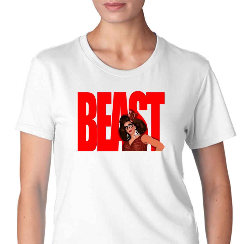 "Alyssa Edwards ""beast"" Womens T-Shirt"