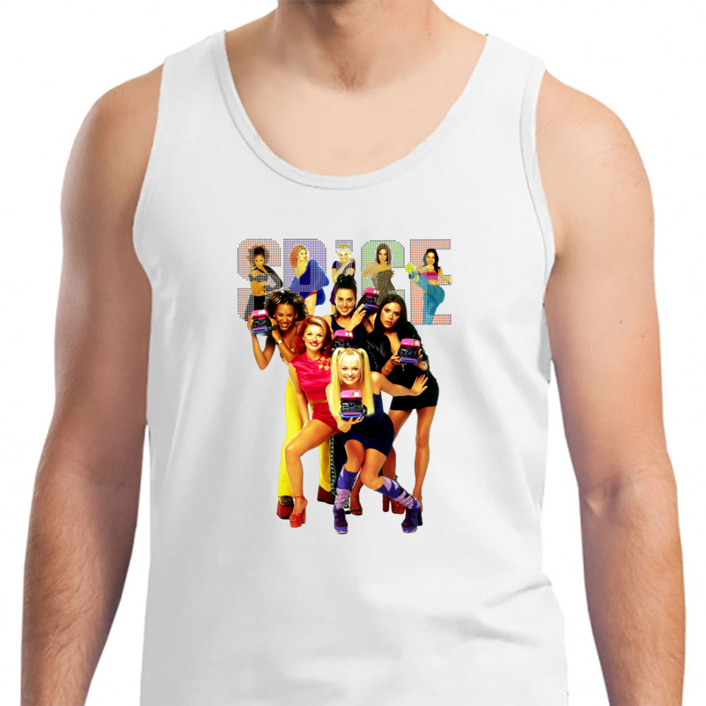 1 - 2 - 3 - 4 - 5 Spice Girls! - Mens Tank Top
