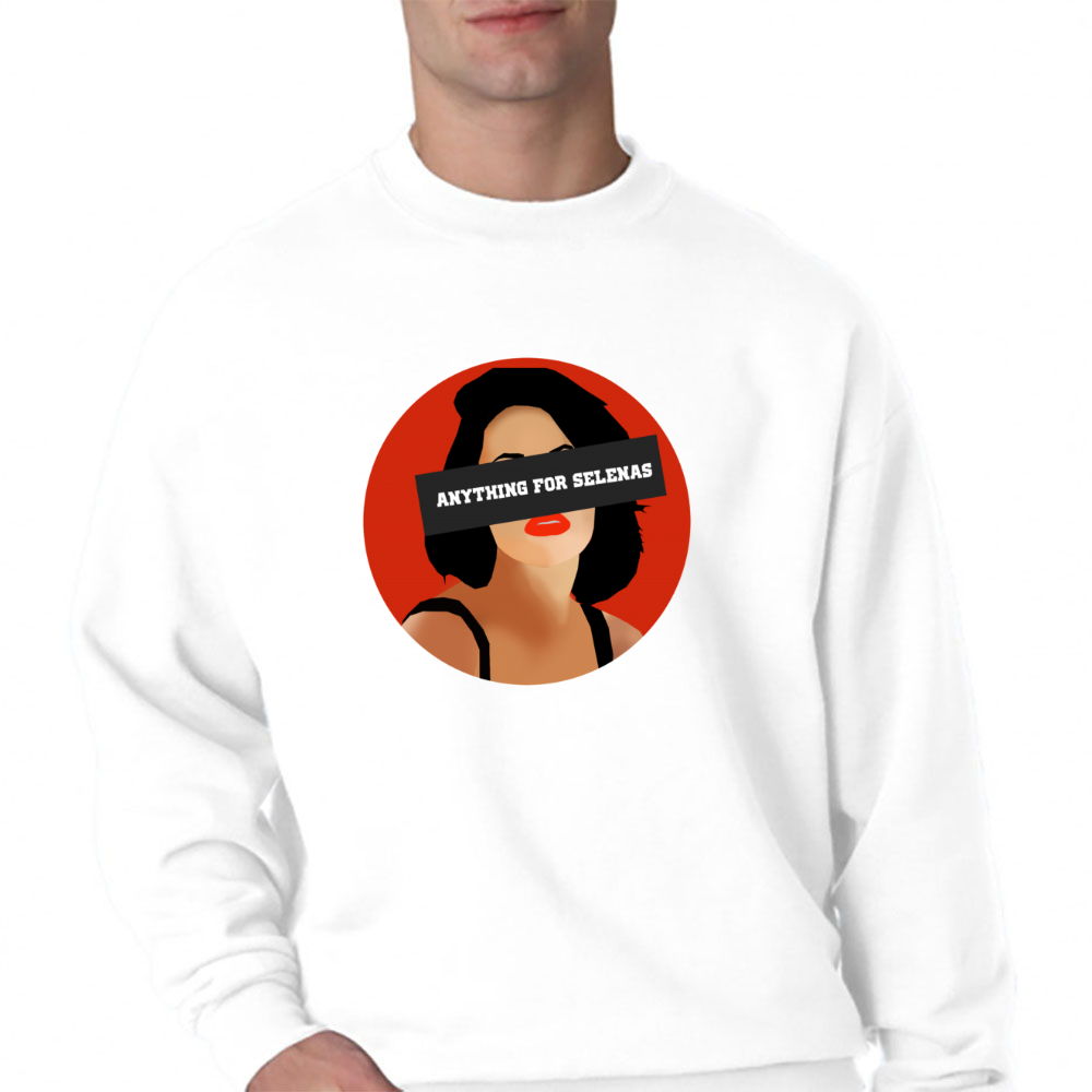 Anything For Selenas Crewneck Sweatshirt