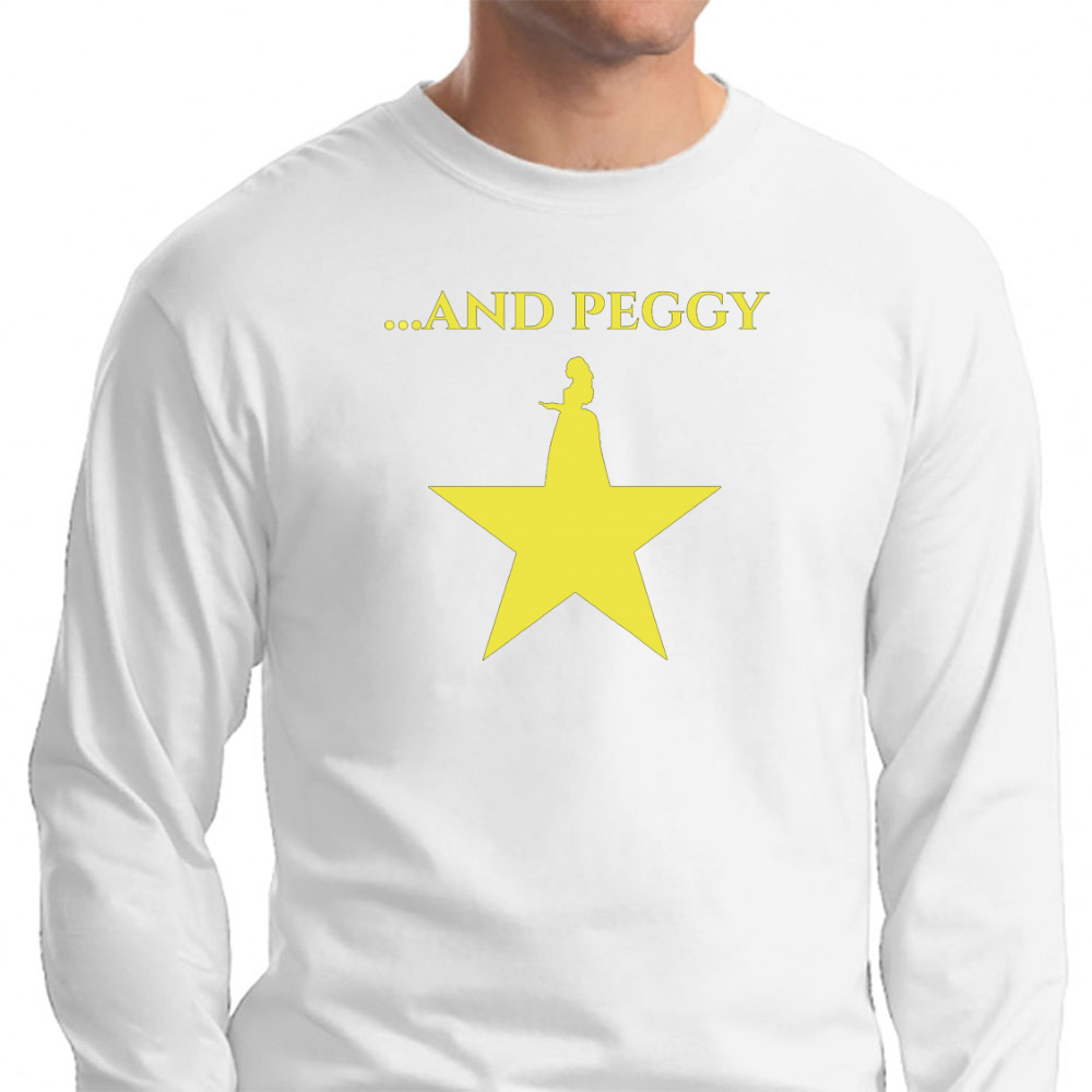 ...and Peggy! Long Sleeve T-Shirt