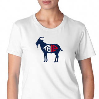 Tom Brady Tb12 Goat Womens T-Shirt