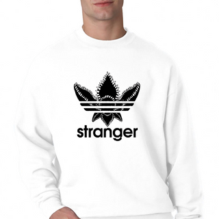 Stranger Things - Adidas Logo Crewneck Sweatshirt