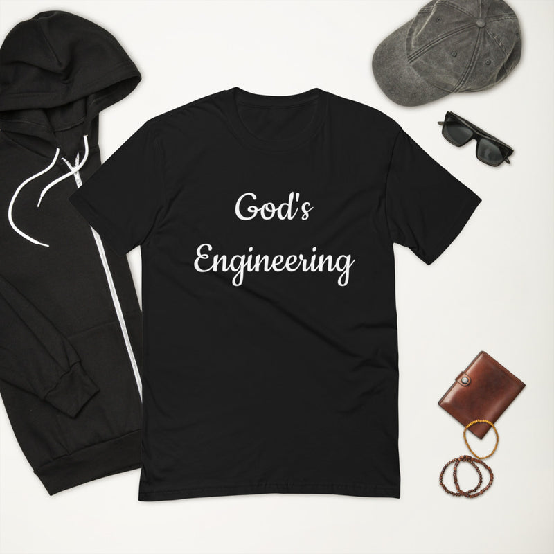 Men's God's Engineering Short Sleeve T-shirt
