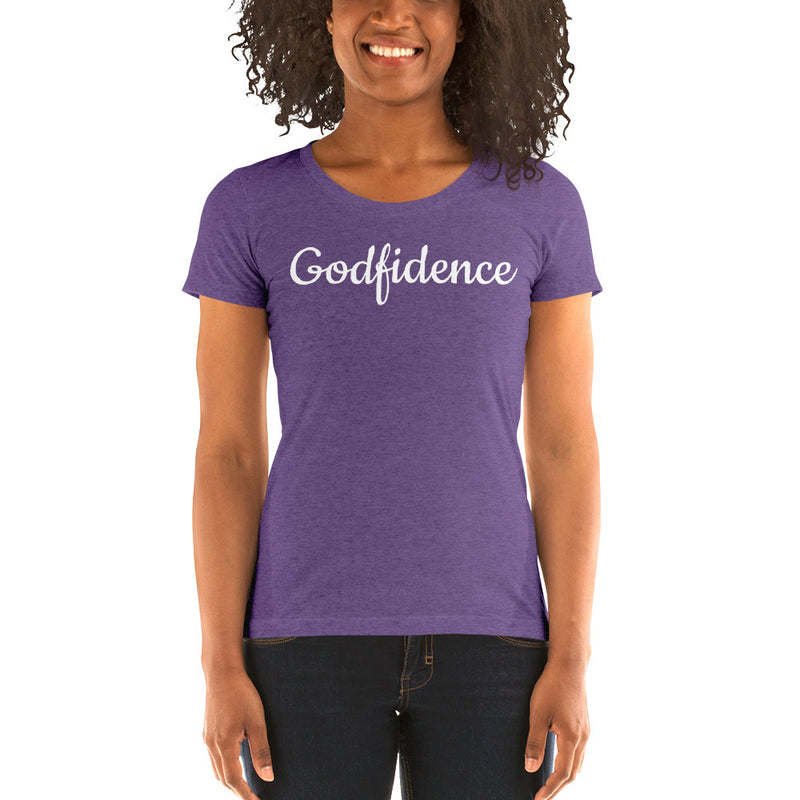 Ladies' Godfidence Short Sleeve t-shirt