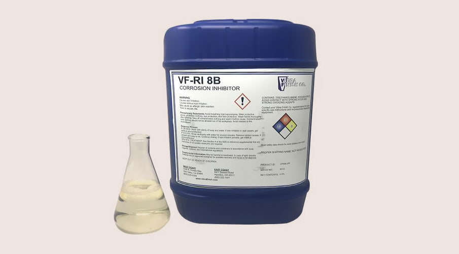 Using Rust Inhibitor VFRI8B With Steel Parts