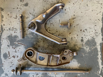 Before and After: Soiled and Rusty Steel MOPAR Auto Parts