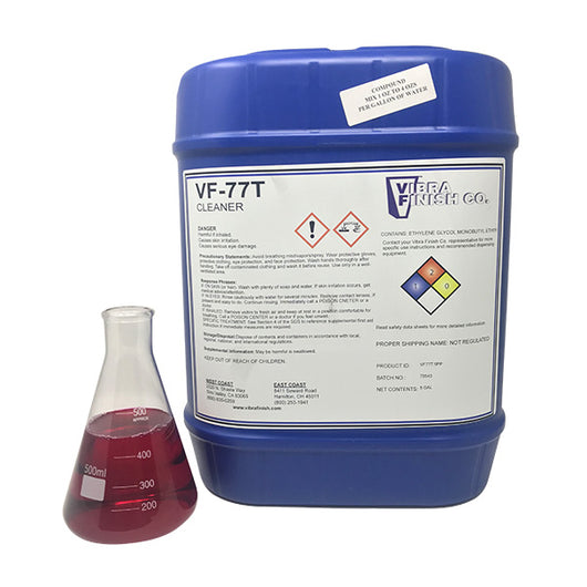 VF-77T General Purpose Cleaner For Aluminum, 5 Gallons