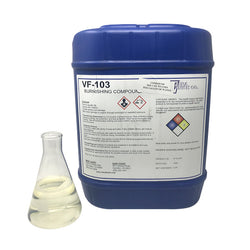 VF-103 Alkaline Burnishing Compound, 5 Gallons