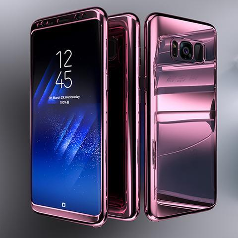 Phone Case - Samsung Galaxy S8 Bling Mirror Full Protection Cover