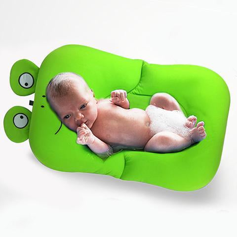 Baby Bath Mat - Frog Design Foldable Baby Bath Tub