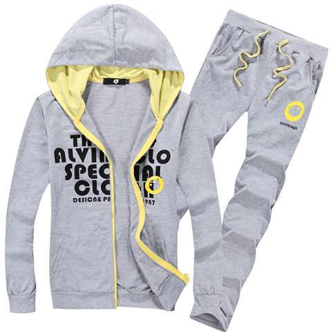 Suits - Men Fashionable Sport Hoodie Suits