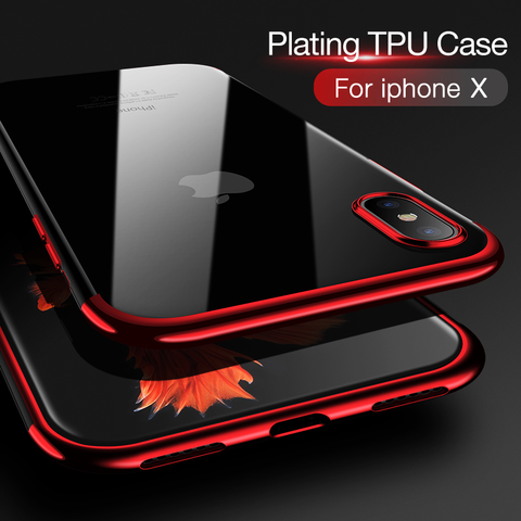 Phone Case - Ultra Thin Shining Silicon Soft TPU Phone Case For iPhone