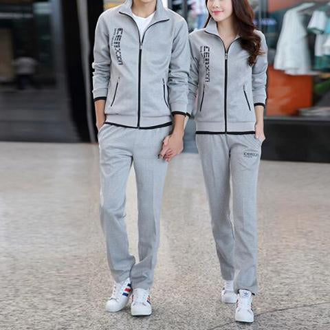 Suits - Hot Sale Lovers Zipper Cotton Sweatsuits