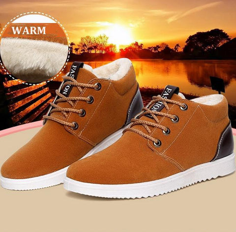 Shoes - Waterproof 2017 Short Plush Warm Shoes