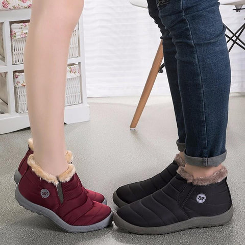 Boots - Waterproof Couple Unisex Winter Shoes