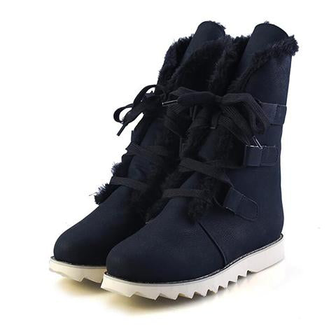Boots - British Style Cotton Snow Boots