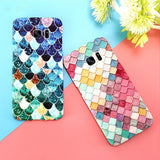 Phone Case - Colorful 3D Mermaid Scale Phone Case