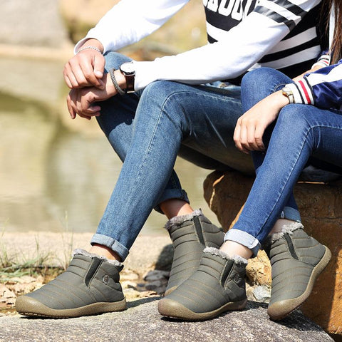 Shoes - Winter Waterproof Warming Unisex Casual Shoes