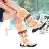 Boots - New Winter Warm Thickened Fur Long Boots