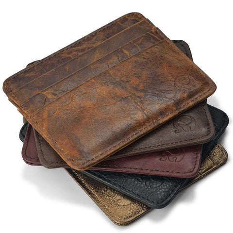 Wallet - NEW Genuine Leather Magic Wallet