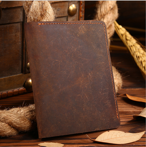 Wallets - Classical Vintage Cattlehide Wallet