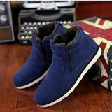 Boots - Big Size New Casual Short Plush Ankle Snow Boots
