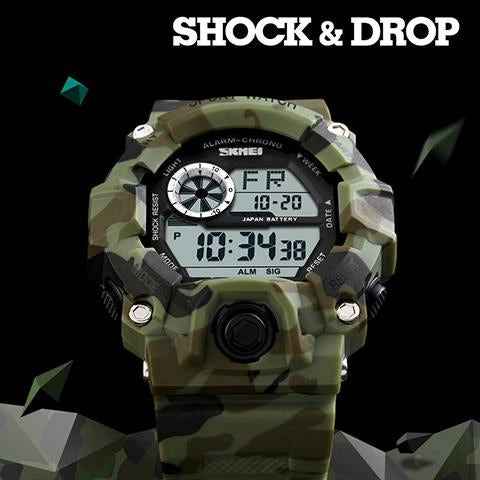Watch - Top Quality Camouflage Sport Watch