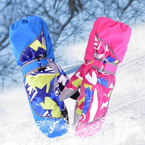 Kids Accessory - Waterproof Windproof Breathable Children Skiing Snow