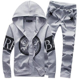 Suits - Fashion Embroidery Outwear Tracksuit
