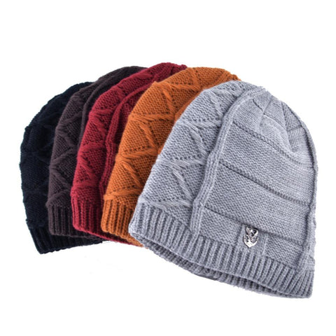 Hat - Hip Hop Boys Velvet Knit Winter Cap
